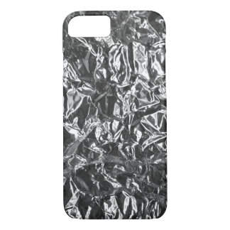 Aluminium foil texture iPhone 7 case