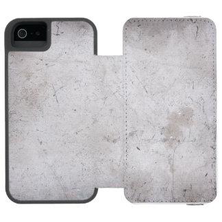 Aluminium Scratched Grunge iPhone 5/6 Wallet Case Incipio Watson™ iPhone 5 Wallet Case