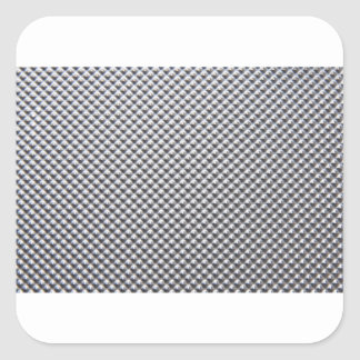 aluminium square sticker