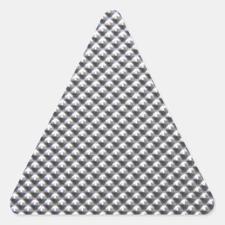 aluminium triangle sticker