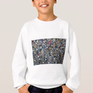 Aluminum Cans Being Recycled Sweatshirt