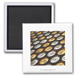 Aluminum cans square magnet