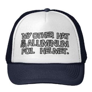 Aluminum Foil Helmet Hat