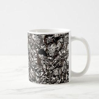 Aluminum Foil Print Coffee Mug