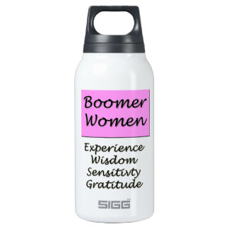 Aluminum for Baby Boomer Women 0.3L Insulated SIGG Thermos Water Bottle