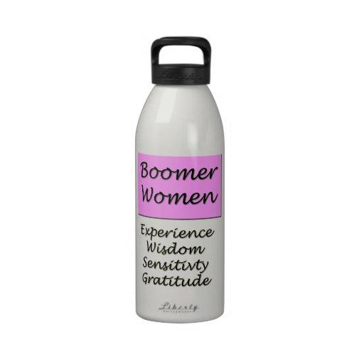 Aluminum Water Bottle for Baby Boomer Women