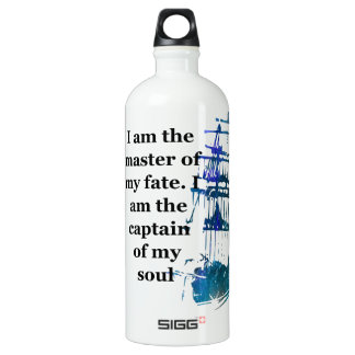 Aluminum Water Bottle Master Of My Fate
