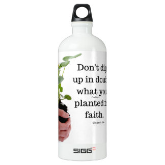 Aluminum Water Bottle Planted In Faith