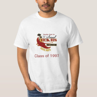 Alumni Reunion 2013 Class of 1997 T Shirt