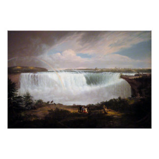 Alvan Fisher The Great Horseshoe Fall, Niagra Poster