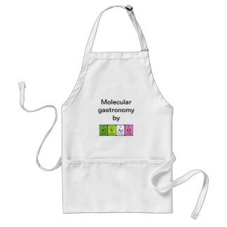 Alvaro periodic table name apron