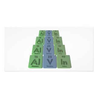 Alvin as Aluminium Vanadium Indium Photo Greeting Card