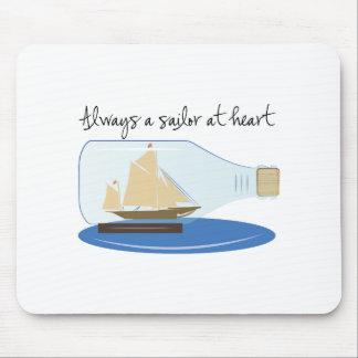Always a Sailor at Heart Mousepad