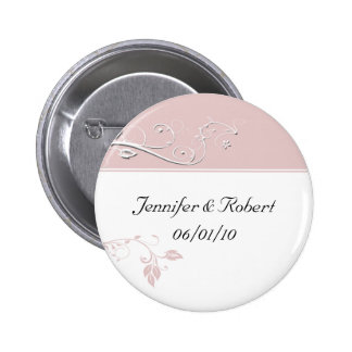 Always and Forever Sweet Pink Pinback Button