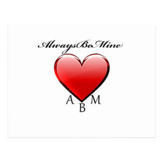 Always Be Mine Postcard