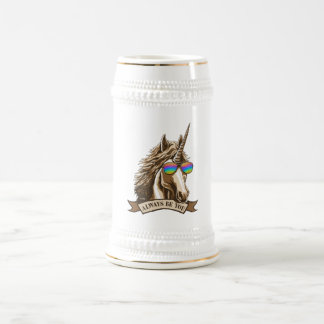Always be you beer stein