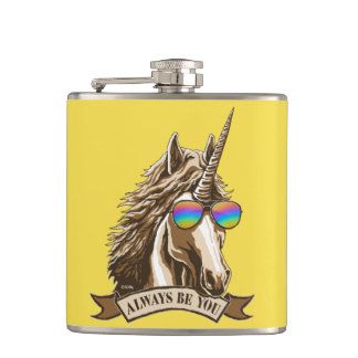 Always be you hip flask