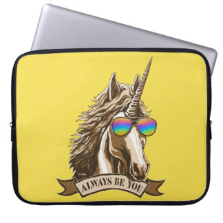 Always be you laptop sleeve