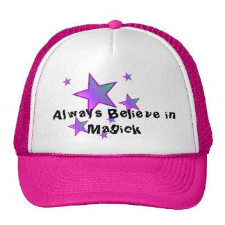 Always Believe in Magick hat