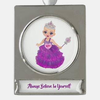 Always Believe In Yourself Princess Ella Ornament