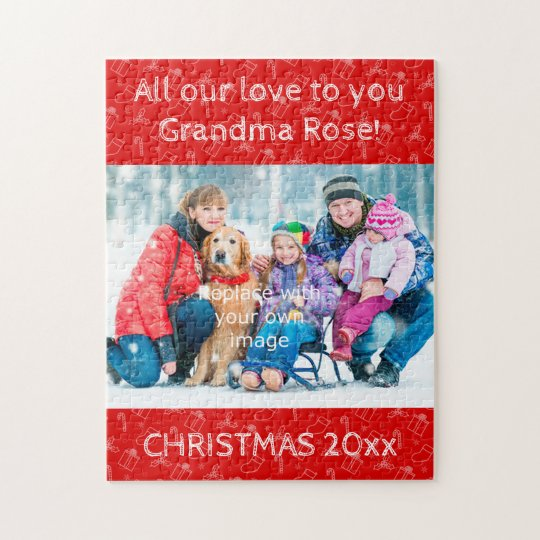 Always Christmas Photo Puzzle for Grandma