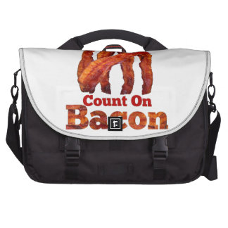 Always Count On Bacon! Laptop Computer Bag