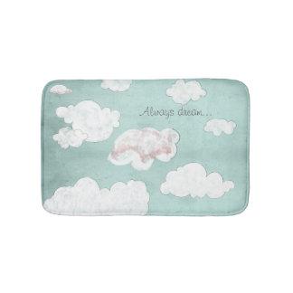 Always dream... bath mat