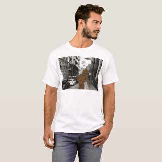 Always explore street life gold scuba dude shirt