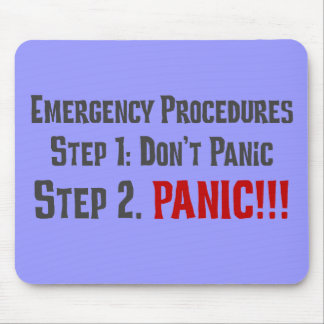 Always Follow Proper Emergency Response Procedures Mousepads