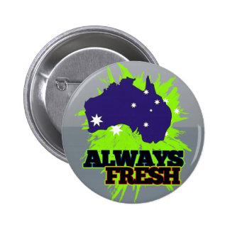 Always Fresh Australia 6 Cm Round Badge