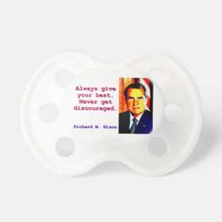 Always Give Your Best - Richard Nixon Dummy