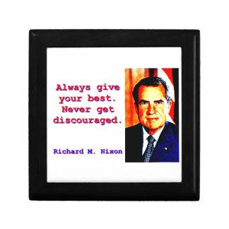 Always Give Your Best - Richard Nixon Gift Box