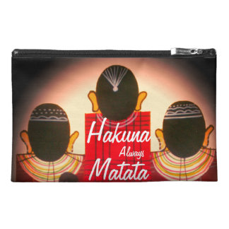 Always Hakuna Matata Family Vintage Travel Accessory Bag