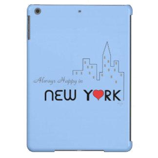 Always Happy in New York iPad Air Cases