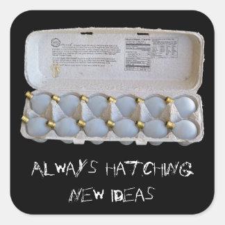 Always Hatching New Ideas Sticker