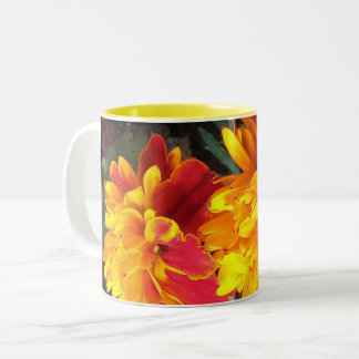 Always in Bloom Marigold Mug