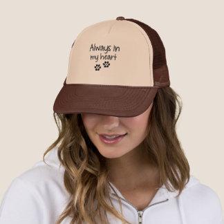 Always in my heart trucker hat
