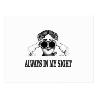 always in my sight postcard