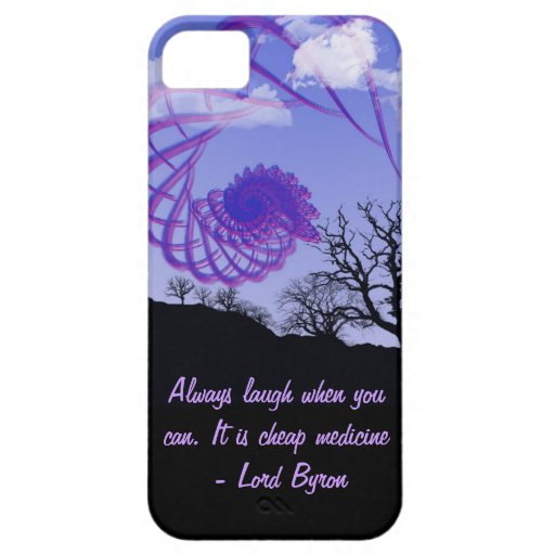Always laugh when you can. It is cheap medicine iPhone 5 Cover