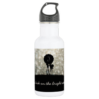 Always look on the bright side of life! 532 ml water bottle