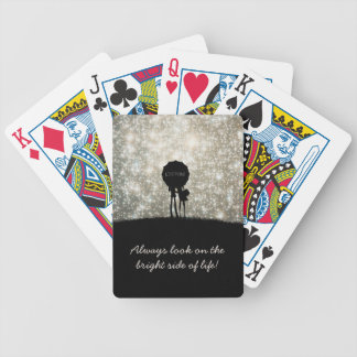 Always look on the bright side of life! bicycle poker deck