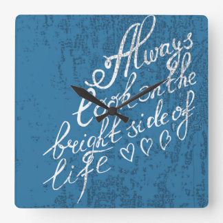 Always Look On The Bright Side Of Life Clocks