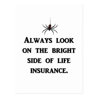 always-look-on-the-bright-side-of-life-insurance postcard