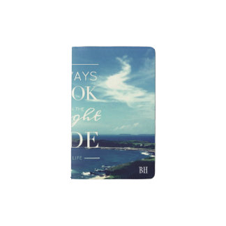 Always Look on the Bright Side of Life Personalize Pocket Moleskine Notebook