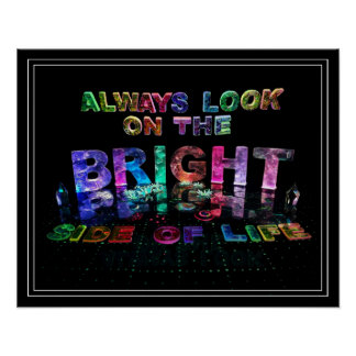 Always Look on the Bright Side of Life Poster