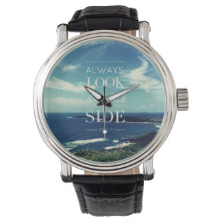 Always Look on the Bright Side of Life / Seascape Wristwatch