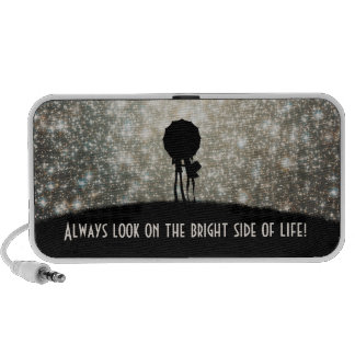 Always look on the bright side of life! travel speakers