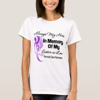 Always My Hero Sister in Law - Pancreatic Cancer T-Shirt