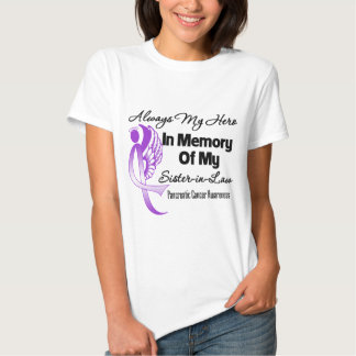 Always My Hero Sister in Law - Pancreatic Cancer Tee Shirts