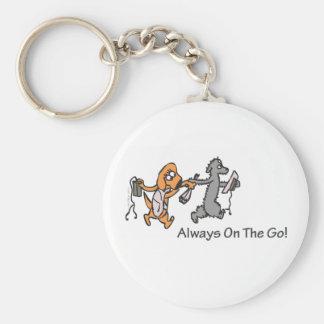 Always On The Go! Key Ring